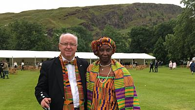 Scot-Ghanaian couple inspire diversity conversation on Twitter