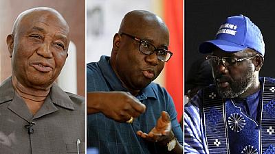 George Weah: Atiku, Secondus react to victory