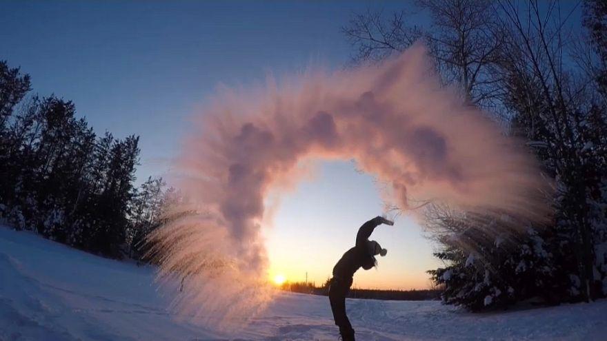 Лютые морозы в Северной Америке