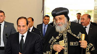 Egypt's Pres. Sisi condemns deadly attack on Coptic church