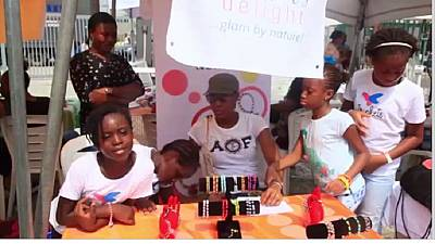 Nigeria : un salon d'entrepreneur pour enfant