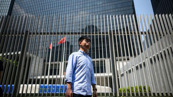 Image: HONG KONG-CHINA-POLITICS-CRIME-UNREST