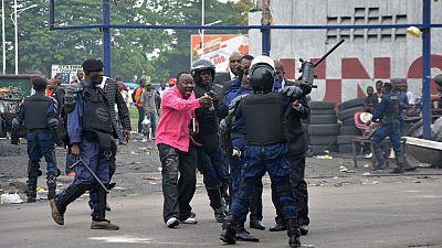 DRC : tirs de l'armée à Kinshasa, dispersion d'une messe à coup de gaz lacrymogènes