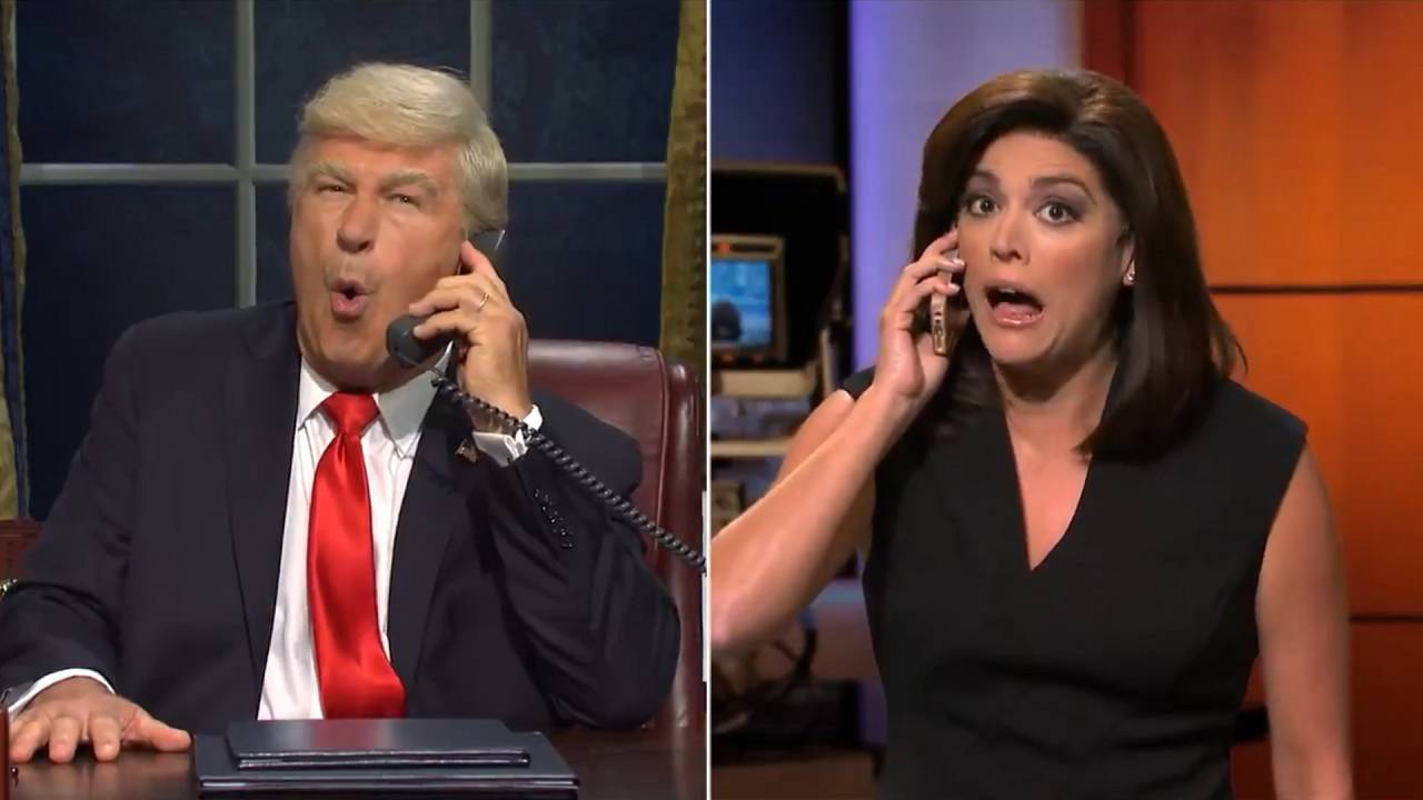 'SNL' returns for 45th season, targets Trump impeachment