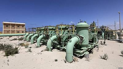 Libya repairs oil pipeline damaged by blast