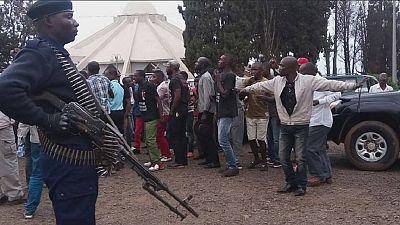 La St Sylvestre 2017 cadenassée par les autorités de Kinshasa