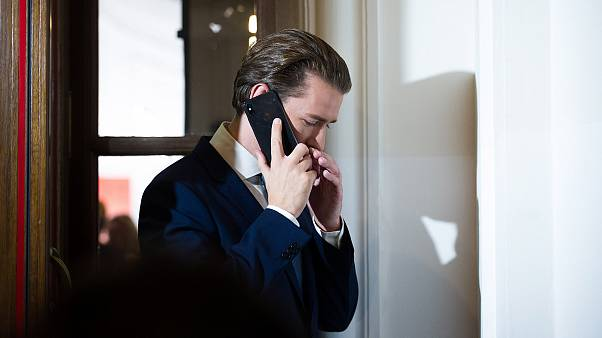 Image: Former Chancellor Sebastian Kurz of the Austrian People's Party (OeV