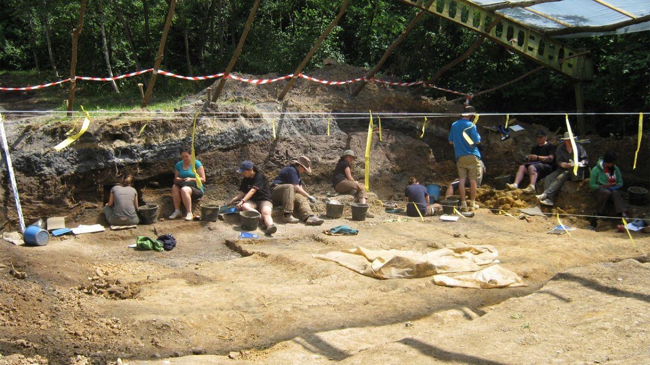 Excavation at the Rudabanya site