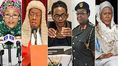 Celebrating African women achievers of 2017: Law, military, politics, diplomacy