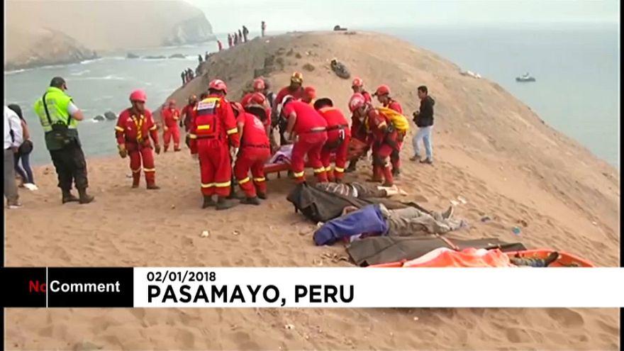 Accident de bus au Pérou : 48 morts, 6 blessés