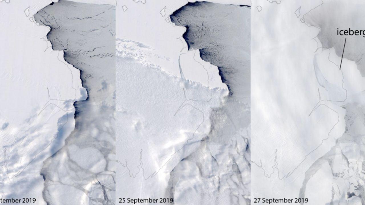The Amery Ice Shelf iceberg calving sequence
