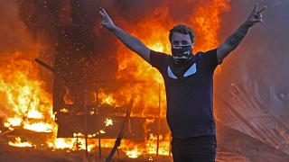 Image: TOPSHOT-IRAQ-POLITICS-DEMO-UNREST