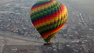 One tourist killed, 12 injured in air balloon crash in Egypt