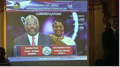 Liberia : la victoire de Weah certifiée par la NEC
