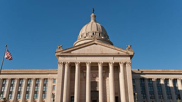Image: Oklahoma state capitol