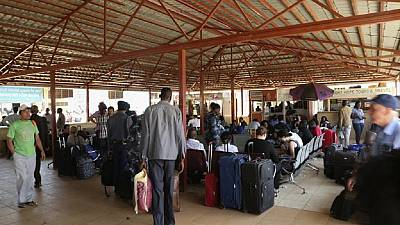 [Photos] Awful spectacle at South Sudan's Juba International Airport