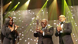 'Football world is proud of Liberia's George Weah' - Ghana president