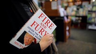 Trump describes self as 'stable genius', 'Fire and Fury' sales soar
