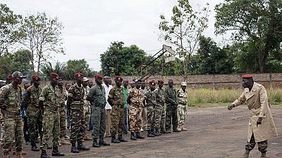 Les Etats-Unis déboursent plus de 10 millions d'euros pour l'armée centrafricaine