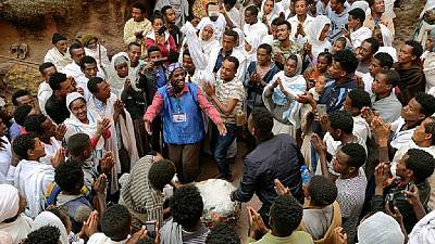 [Photos] Orthodox Ethiopians gather at Lalibela for Christmas amid peace calls