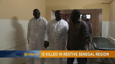 Senegal:13 killed in restive Senegal region [The Morning Call]