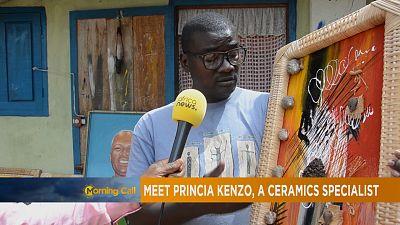 Meet Princia Kenzo, a ceramics specialist [The Morning Call]