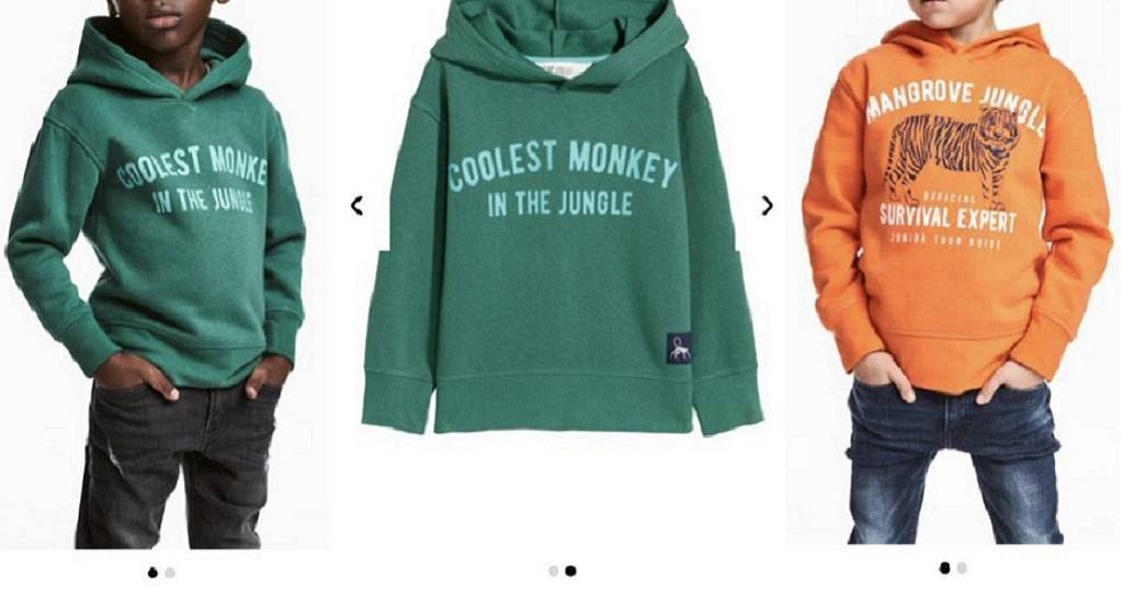 e5ce743e4 Fashion brand H M apologizes for ad of black boy in  Coolest Monkey ...