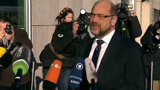 Europe 'fundamental' in Germany's coalition talks