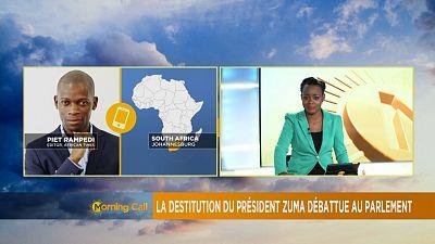 Le Parlement sud-africain revoit les règles de destitution du président [The Morning Call]