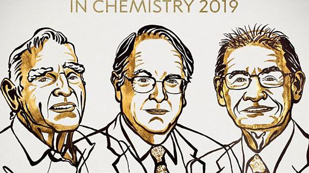 Image: Laureates of the 2019 Nobel Prize in Chemistry, John B. Goodenough,