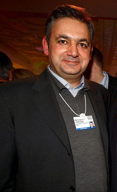 Mehmet Ali Yalcindag of the Dogan Media Group attends the DLD Nightcap on Jan. 28, 2009 in Davos, Switzerland.