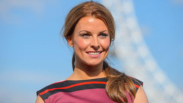 Image: Coleen Rooney during a photocall for the launch of her fashion and s