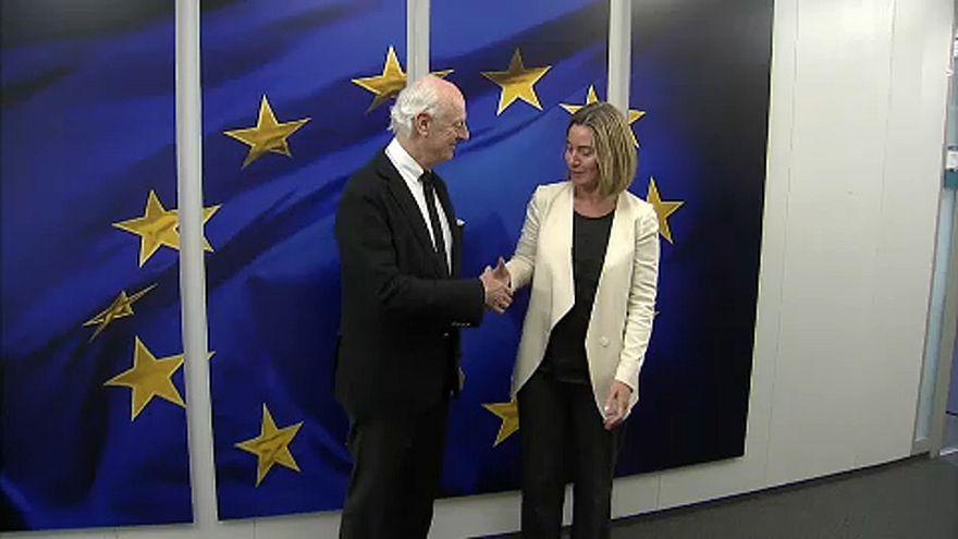 Az EU és az ENSZ Szíriáról egyeztetett