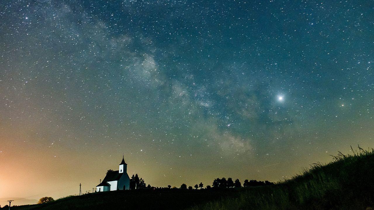 Image: Milky Way in Slovakia