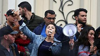 Tunisians to protest until gov't drops austerity measures