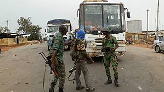 Heavy gunfire at military camps in Ivory Coast's second city