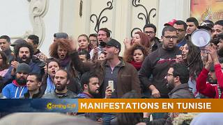 Manifestations contre la vie chère en Tunisie [The Morning Call]