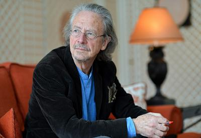 Austrian novelist and playwright Peter Handke in Salzburg on Nov. 22, 2012.