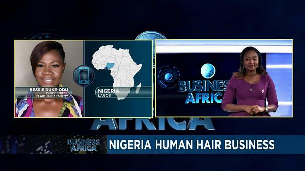 Nigerian entrepreneur Bessie Odu upholds human hair business in the country [Business Africa]
