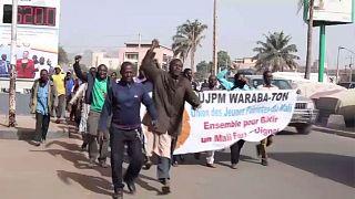 Mali : dispersion d'une manifestation contre la présence française