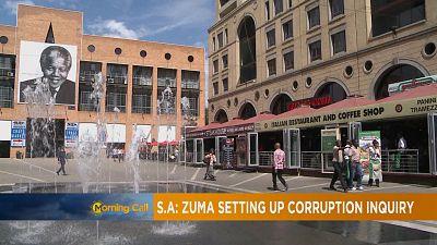 Jacob Zuma a annoncé la création d'une commission d'enquête sur la corruption [The Morning Call]