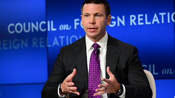 Image: U.S. acting DHS Secretary McAleenan speaks at a Council of Foreign R