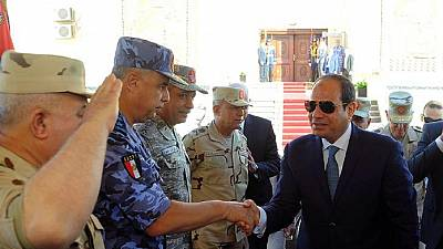 Former army chief to run for president in Egypt