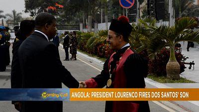 Angola : Le fils de Dos Santos limogé [The Morning Call]