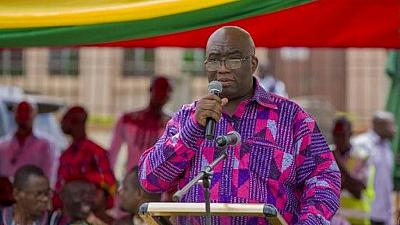Ghana's railways minister sends 14 workers home over lateness