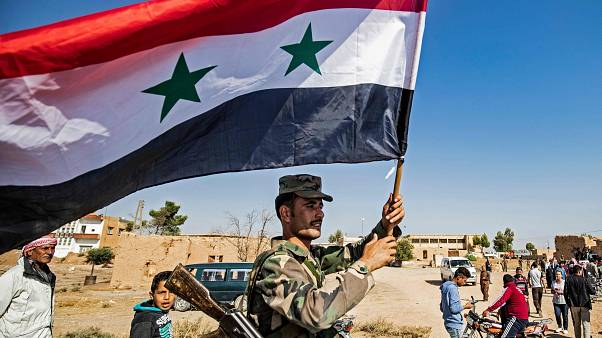 Syrian regime soldier