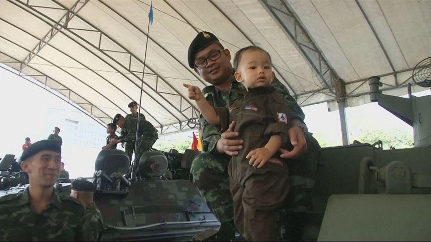 Festival das crianças celebra a importância dos militares