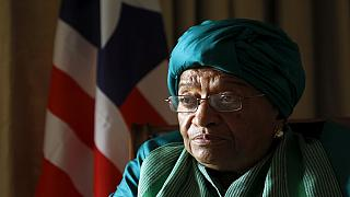 Liberia ruling party expels President Johnson Sirleaf