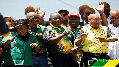 South Africa's ANC leader: Zuma to be dealt with over time