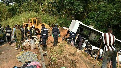 Au moins 21 morts et 38 blessés dans un accident de la route au Cameroun
